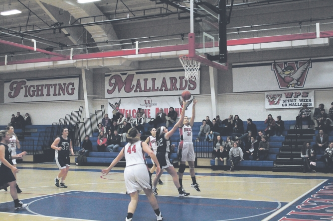 WP Lady Mallards take down Herons, win match, 48-9