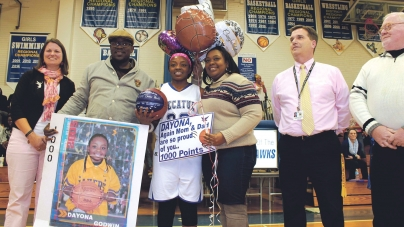 Decatur junior Dayona Godwin hits 1,000th point