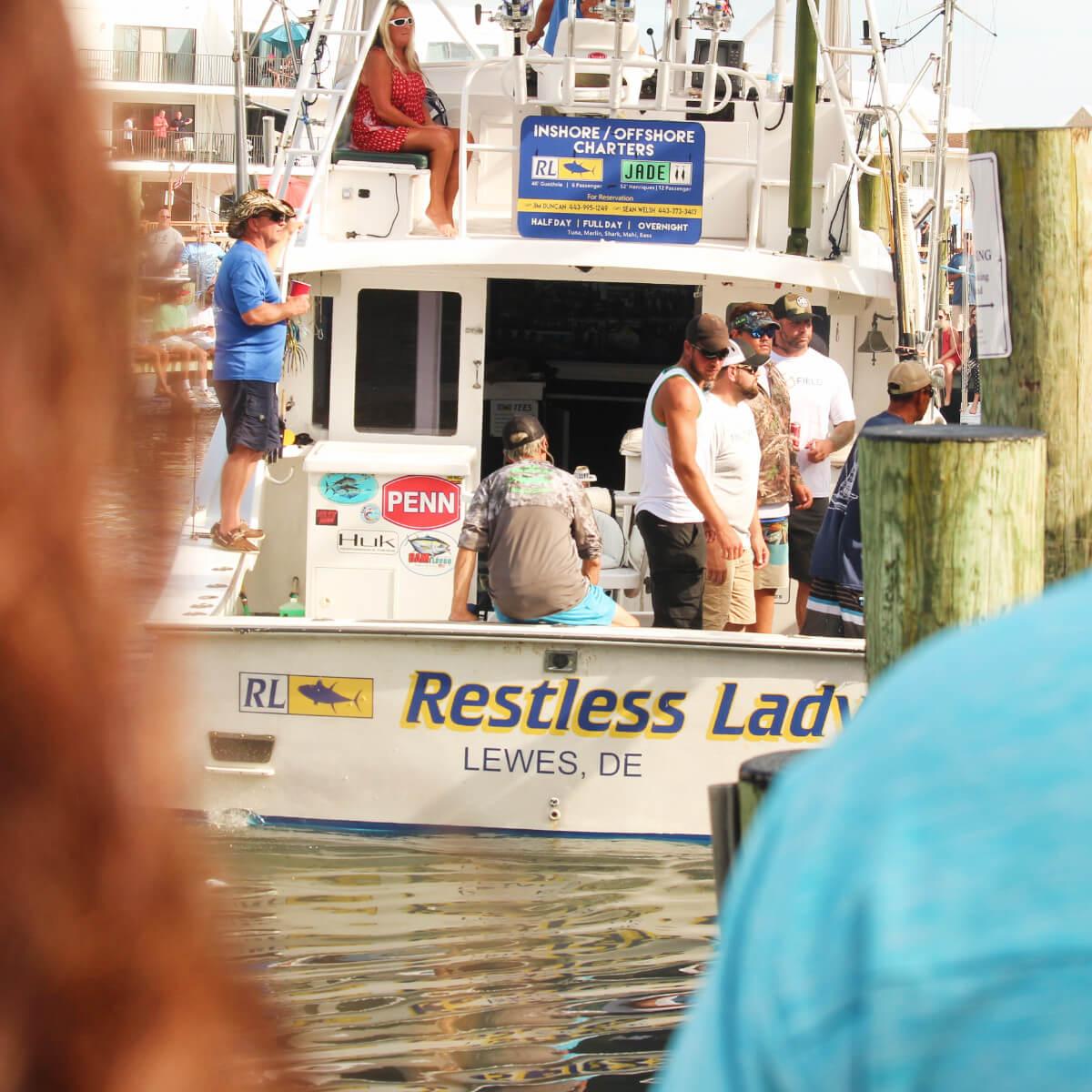 Restless lady boat
