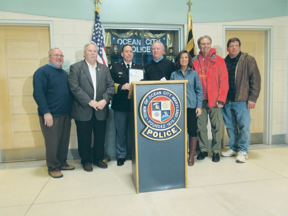 Council, community honors OCPD