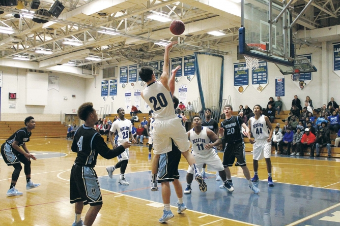 Decatur's season ends in  3A South Region first round