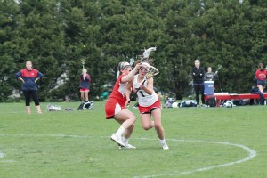 WP girls' lax team earns 16-7 win over JMB