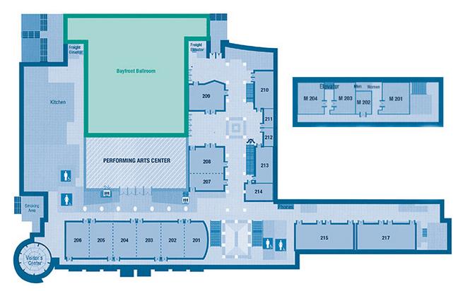 Performing Arts Center floorplan 2