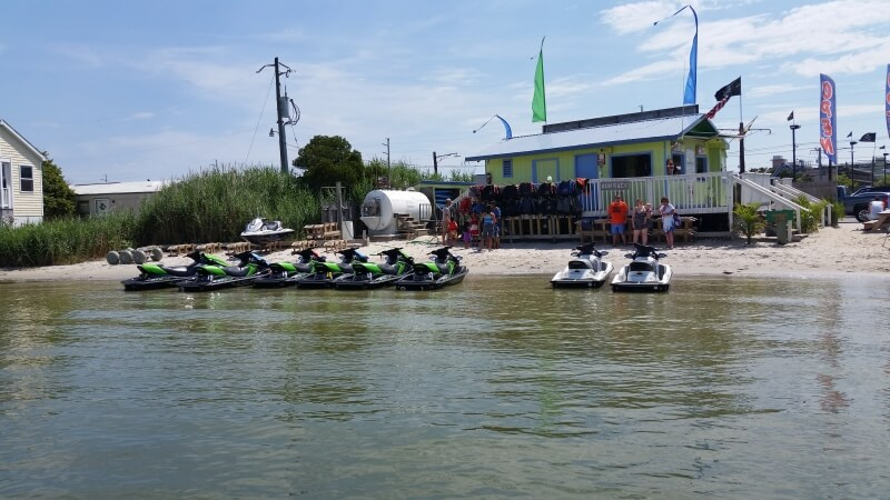 Oddysea Watersports shore