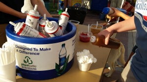 Decorate your own sundae at Northside Park