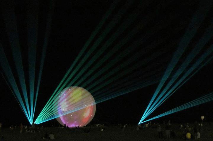 OC Beach Lights 2014 photo by OC Beach Lights Facebook