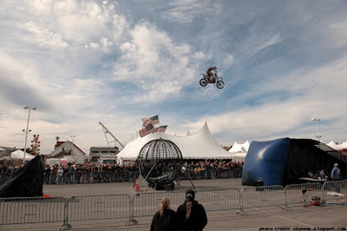 OC Bikefest Stunt Show