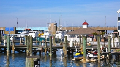 Ocean City's a winter wonderland