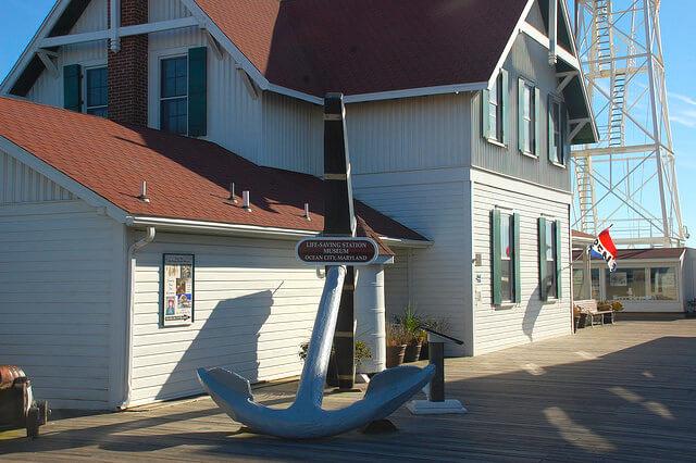 Ocean City Life Saving Station Museum exerior