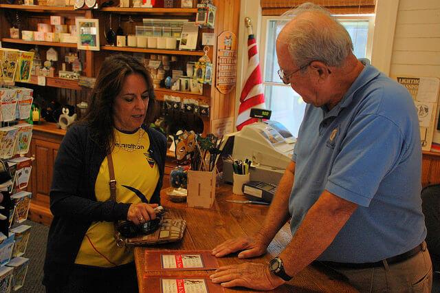 Ocean City Life Saving Station Museum gift shop