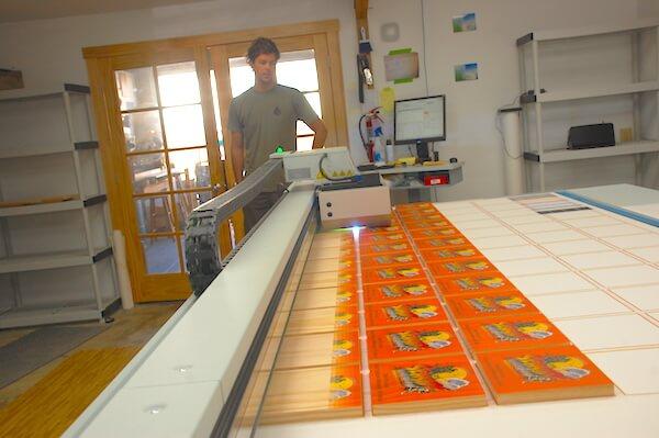 printing photos on wood