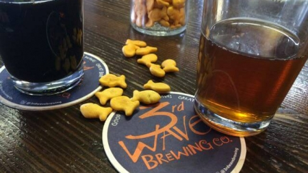 Craft Beer in the snow: Microbrew Monday