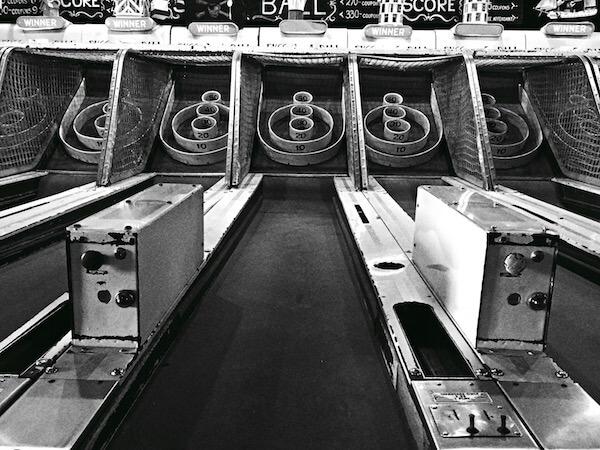 Skee Ball lane