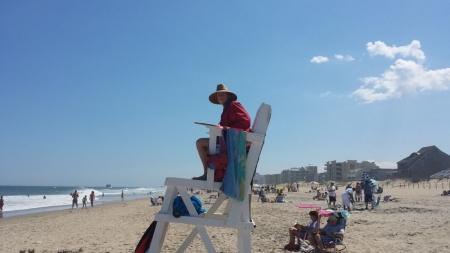 Always Swim Near a Lifeguard