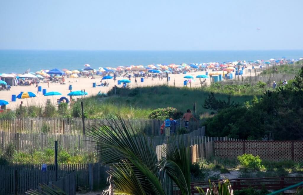 oceanfront hotel view
