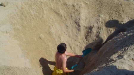 The Rule About Digging at the Beach
