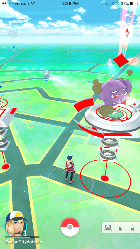 pokemon gym and stops in berlin