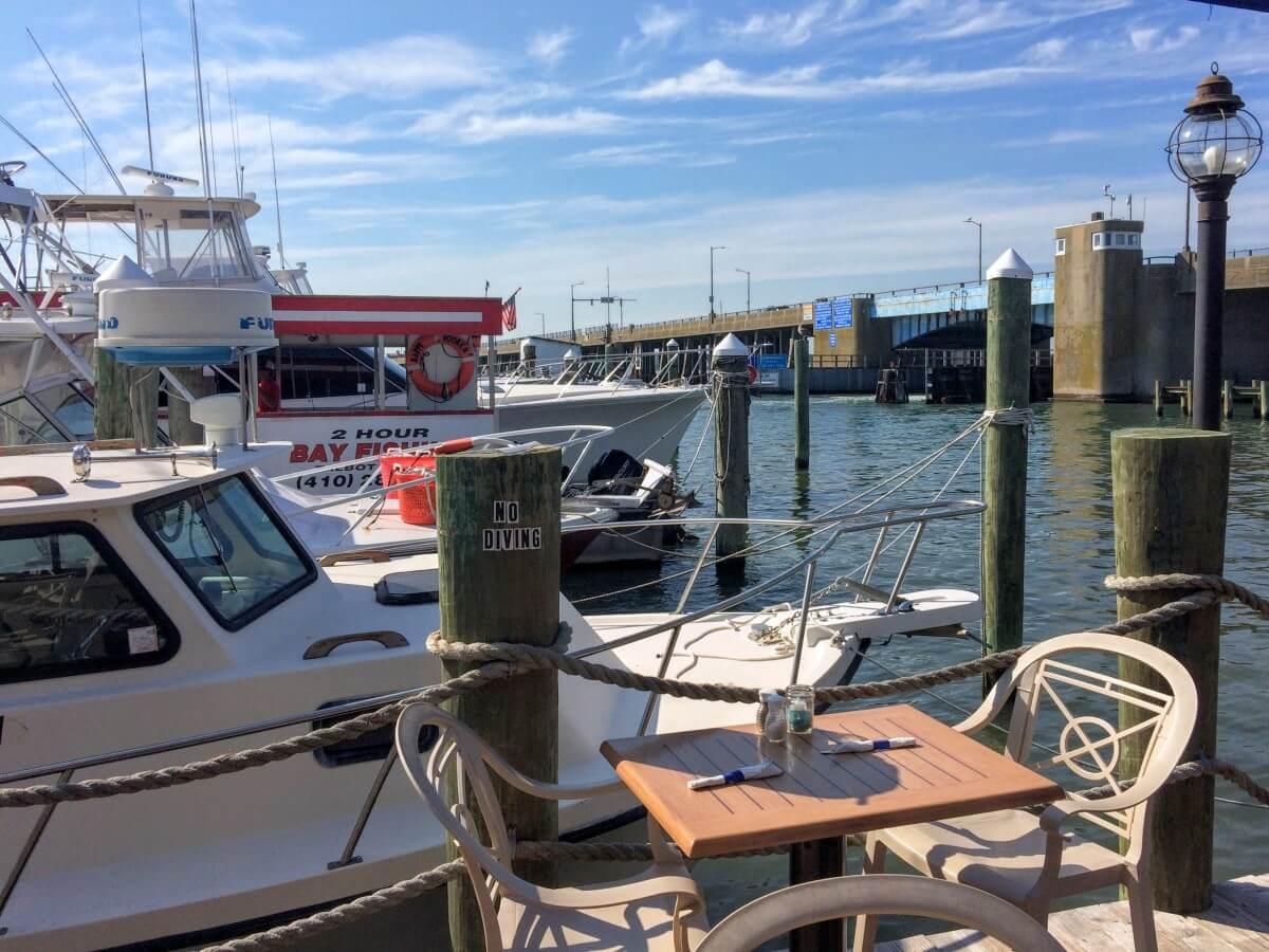ocean city bar views