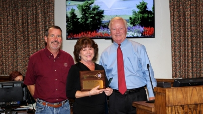 Town of Ocean City employee Barbara Scheleur retires