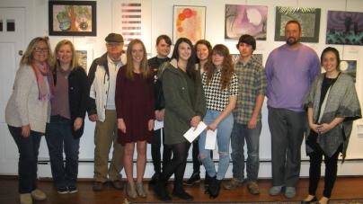 Congratulations to winners of the Ocean City/Berlin Optimists High School Art Contest!