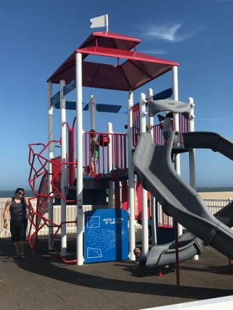 Visit the first Ocean City beach playground