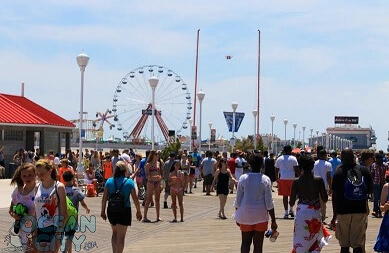 Safe on the Boards: June in Ocean City