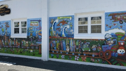 Painting Berlin: Wrapping up the first phases of the mural
