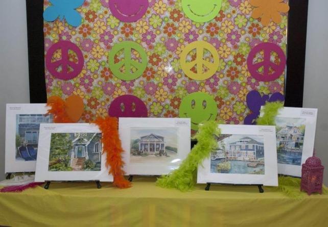 Peace, Love & Sandcastles: the Art League's 13th Sandcastle Home Tour