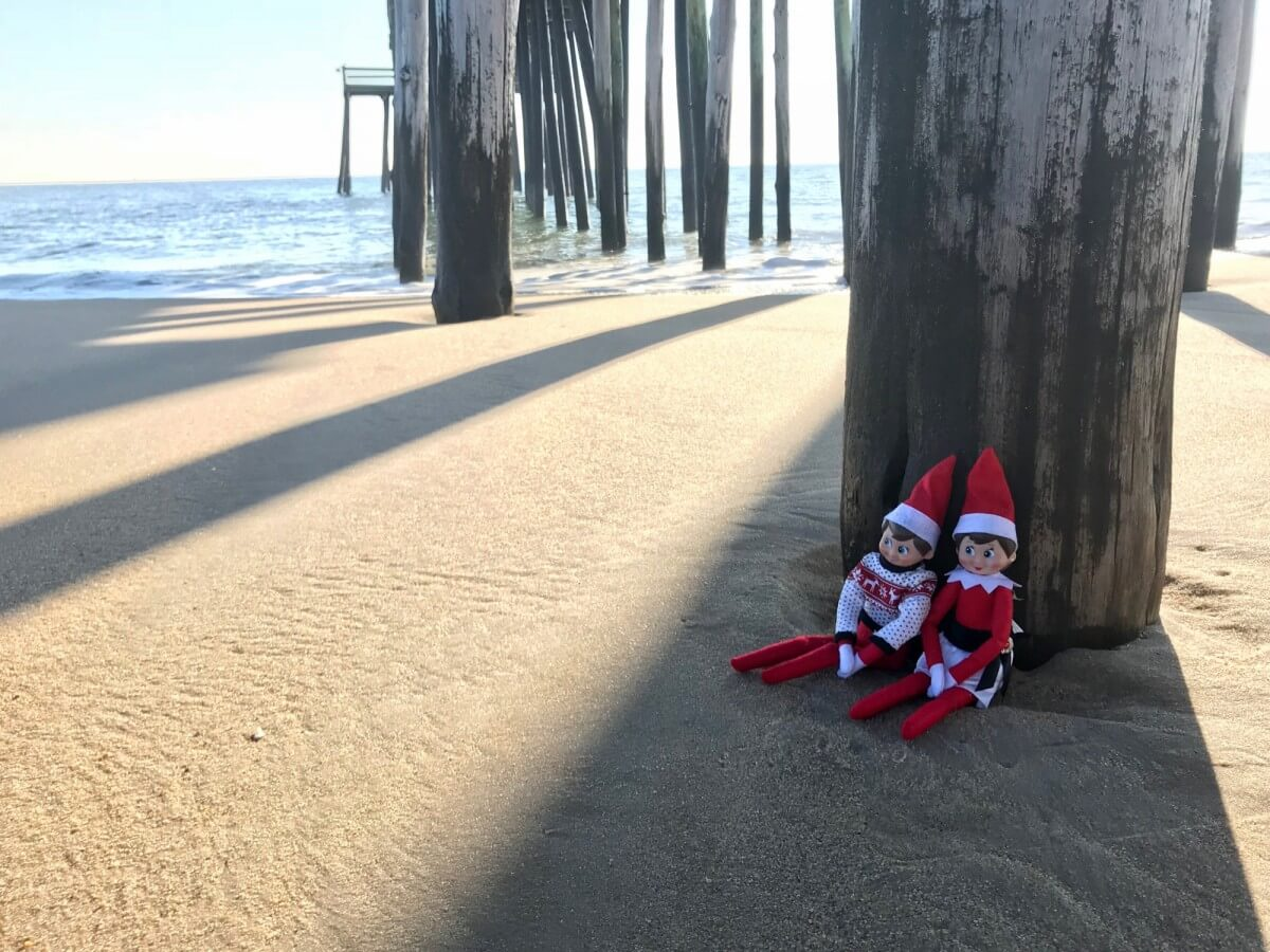 Ocean City elves pier