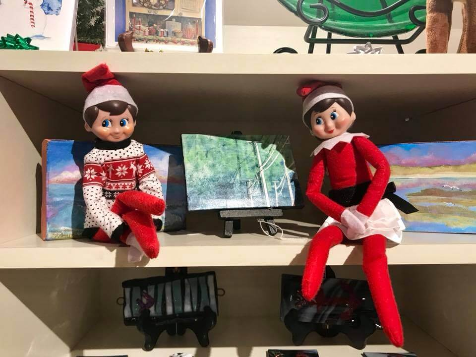 Ocean City elves art league