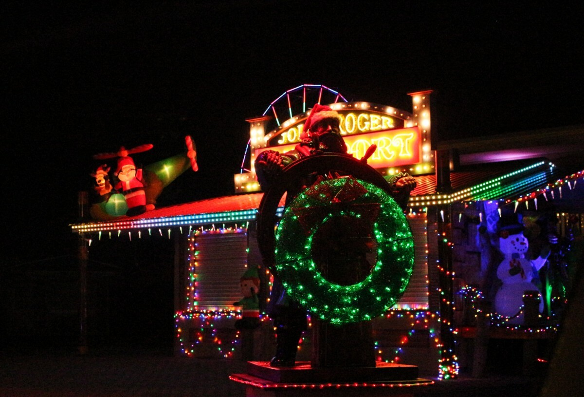 Jolly Roger christmas lights