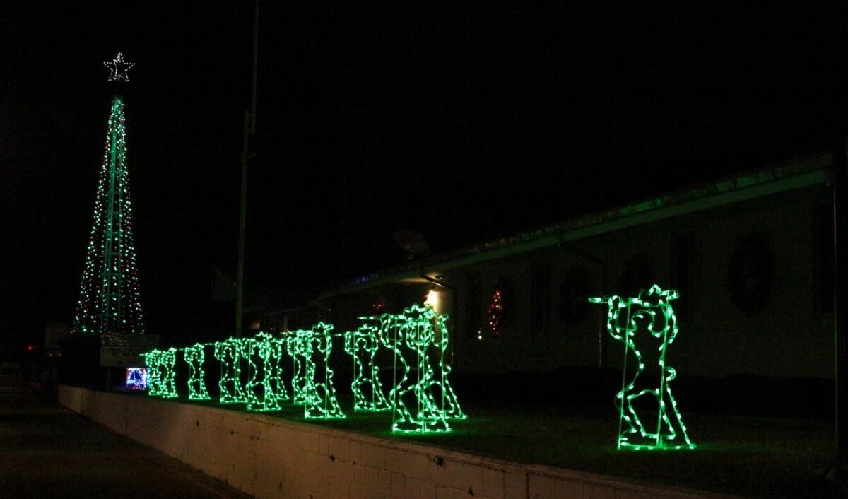 Ocean City coast guard lights
