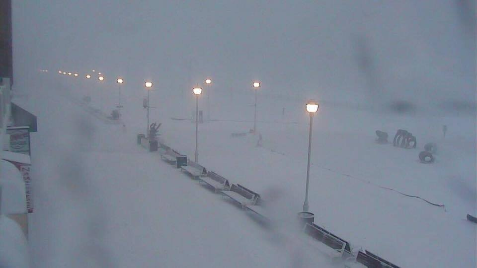 Boardwalk blizzard