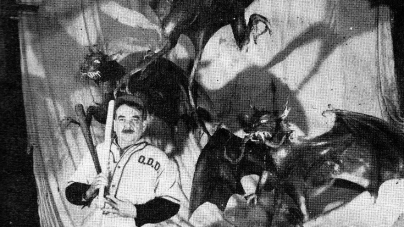 Ocean City Oddities: Bill Tracy, OC's Original Dark Ride Bat Boy