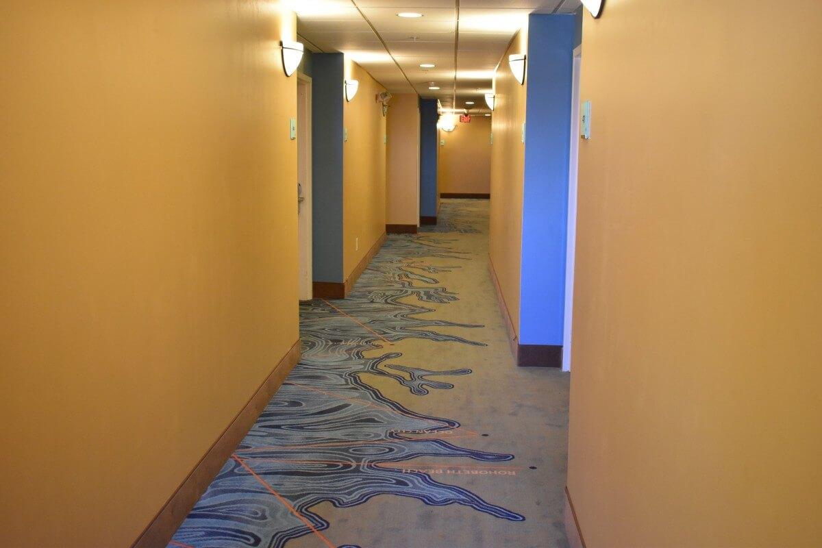 Gateway Hotel hallway