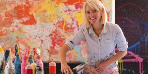 Up-and-coming artists are showcased this March at the Art League of Ocean City