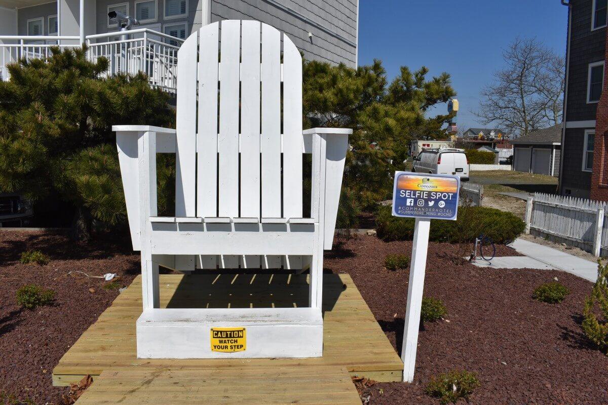 Commander beach chair