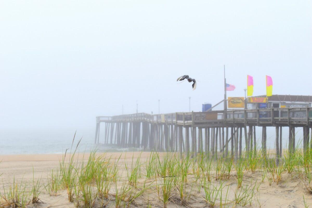 Pier fog