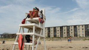 Ocean City Beach Patrol stand