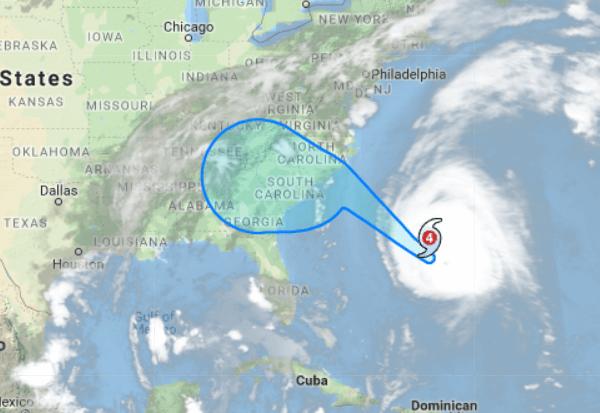 Hurricane Florence moving toward East Coast, could hit Maryland