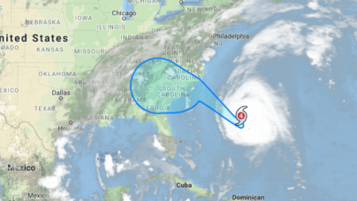 Hurricane Florence Tracking South