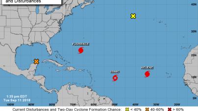 As Hurricane Florence strengthens, Hogan declares State of Emergency