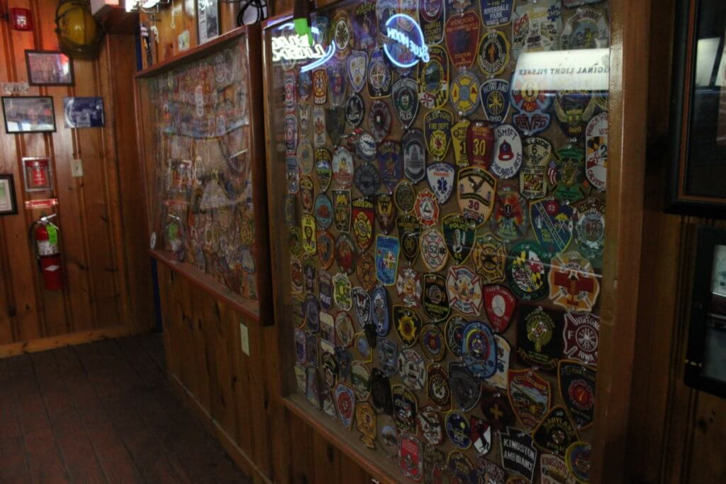cork bar firefighter badges