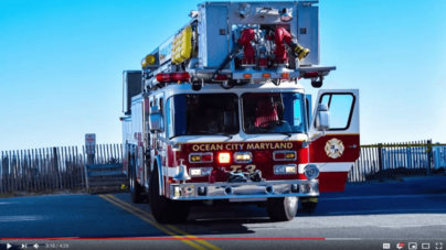 Ocean City Volunteer Fire Department debuts new website, recruitment video