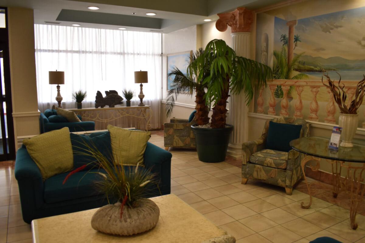 Princess Bayside lobby