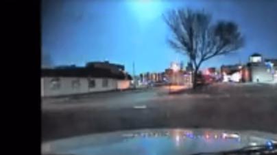 Ocean City Police Officer Captures Meteor on Dash Cam