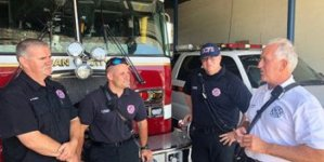 Ocean City's New Fire Chief Reports for Duty