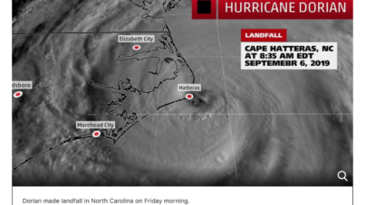 Hurricane Dorian: Town of Ocean City Update 9/6/19 12:39pm