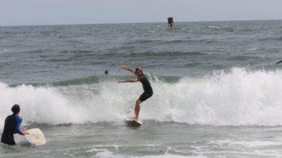 Hurricane Dorian: Making Waves & Smiles