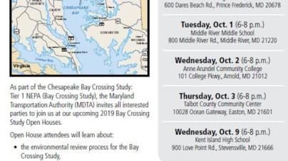 Meeting 10/3/19: Possible New Bay Bridge Location